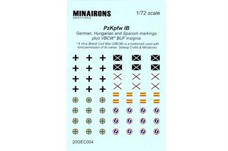 Panzer I B Markings