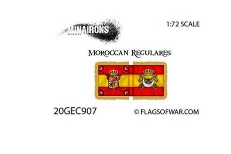 Moroccan Regulars Flag