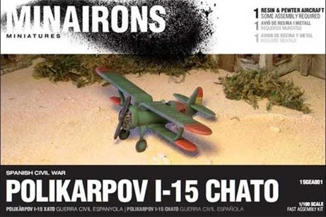 Polikarpov I-15 fighter