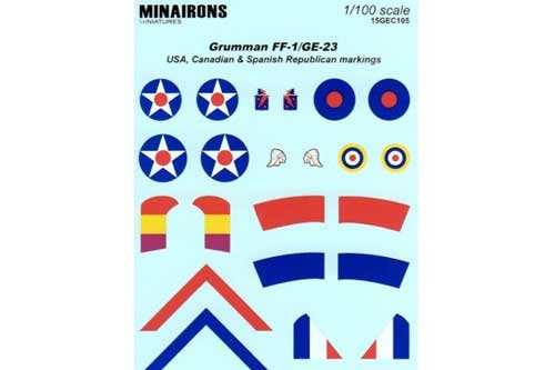 Grumman FF1/GE23 Markings