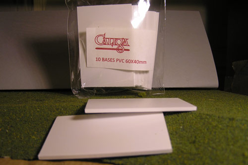 PVC bases 60x40mm