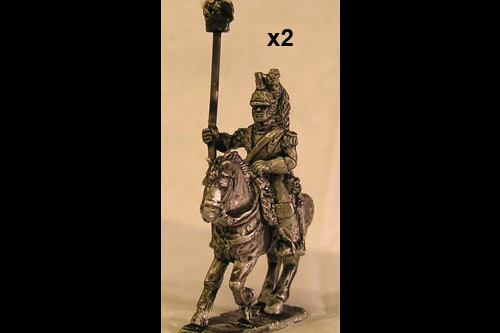 French Cuirassiers Eagle Bearer (x 2)