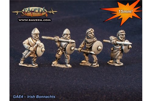Norse Irish Bonnachts (8 foot Figures)