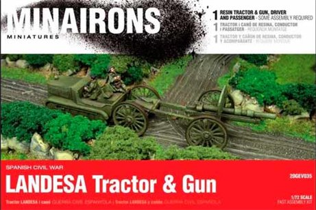 LANDESA TRACTOR & GUN - BOXED KIT