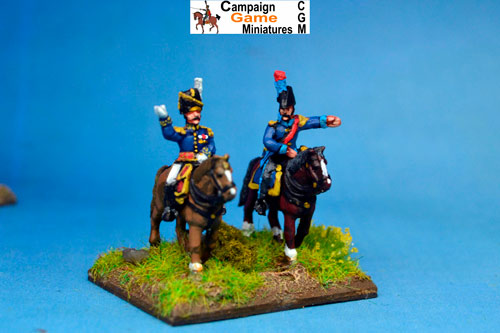 Imperial Guard General or Lt Col in Busby & ADC in Bicorne