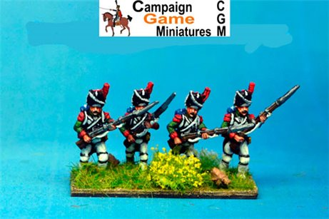 Italian Guard  Grenadiers (Reale) Advancing