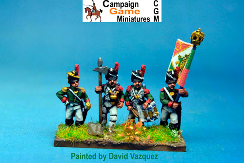Italian Guard  Grenadiers (Reale) Command Standing