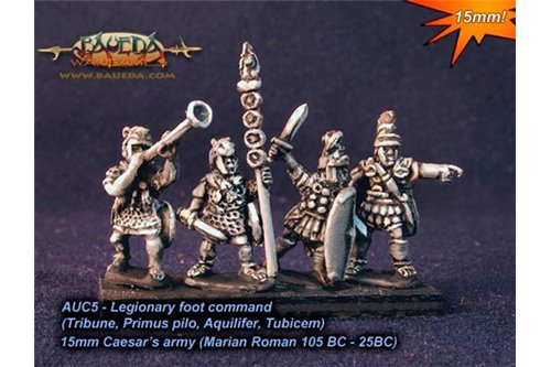 Roman Legionary foot command x8