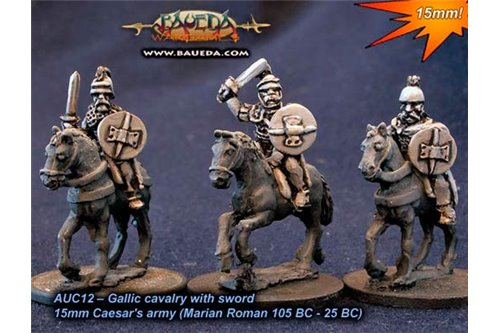 Gallic Cavalry with swords