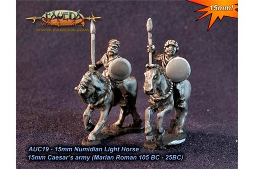 Numidian Light Horse x4