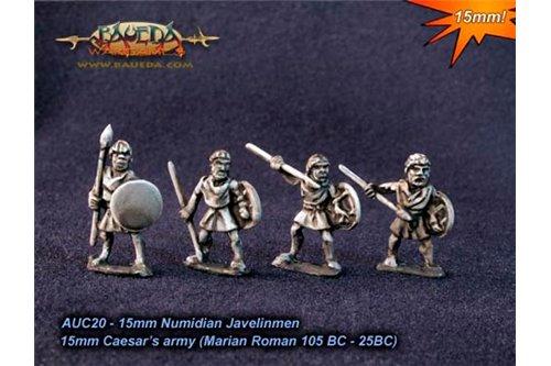 Numidian Javelinmen x8, 4 variants