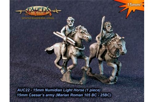 Numidian Light Horse (1 piece) x4, 2 variants