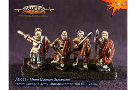 Ligurian Spearmen x8