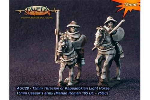 Thracian or Kappadokian Light Horse x4