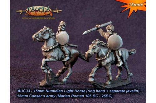 Numidian Light Horse (ring hand + separate javelin)