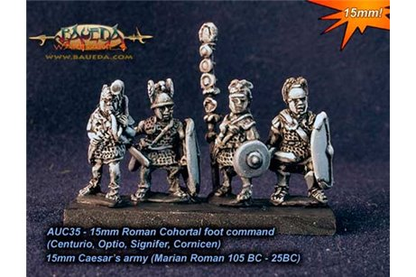 Roman Cohortal foot command