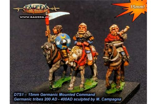 Germanic Mounted Command x4
