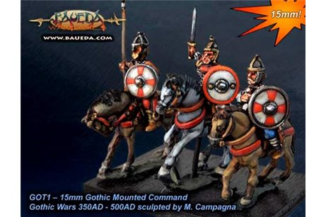 Gothic Mounted Command x4