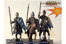 XI-XII C. Italo-Norman Knights and sergeants