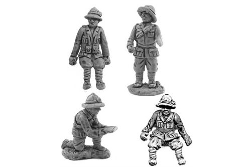 Team for Breda 20/65 adapted for truck (4 miniatures)