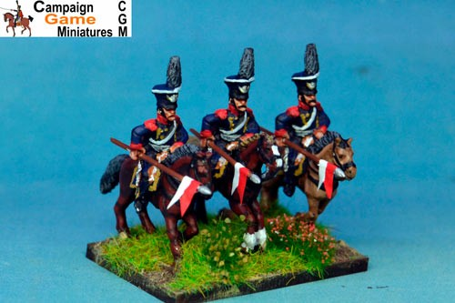 Polish Elite Lancers Charging Czapka x 2