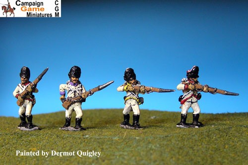 German Grenadiers Firing Line