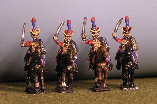 Hussar Charging Chords & Plume