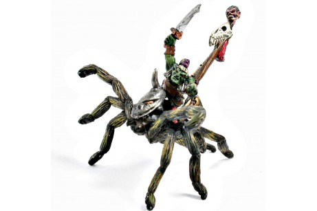 Goblin Standar Bearer on Giant Spider