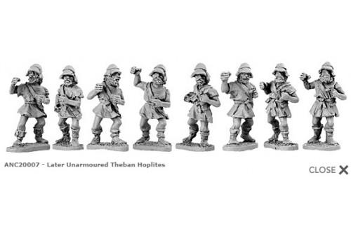 Unarmoured Theban Hoplites (Random 8 of 17 designs) 8