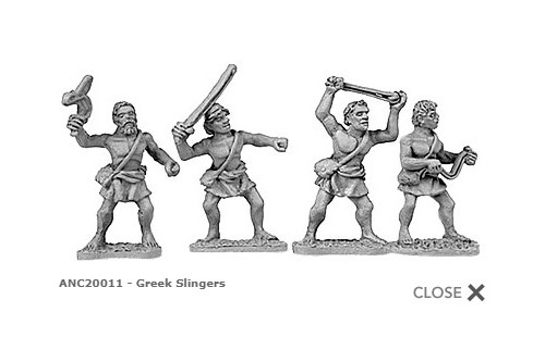 Greek Slingers (random 8 of 4 designs)