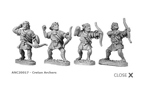 Cretan archers (random 8 of 4 designs)