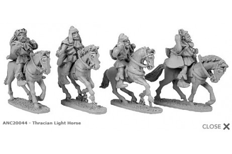 Thracian Light Horse (random 4 of 4 designs)