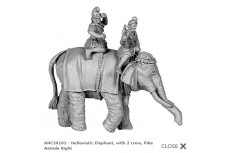 Hellenistic Elephant w/crew astride second version