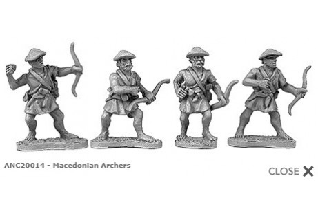Macedonian archers (random 8 of 4 designs)