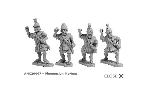 Phoenecian Marines (random 8 of 4 designs)