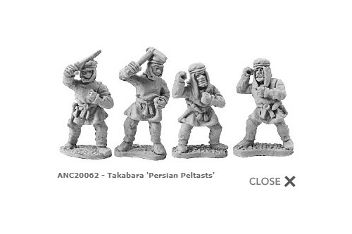 Takabara ''Persian Peltasts'' (random 8 of 4 designs)'