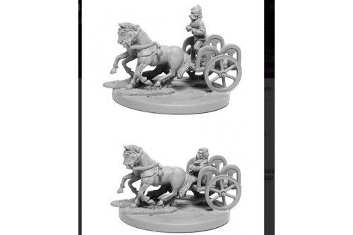 Gallic 2-Horse Chariot w/2 Crew