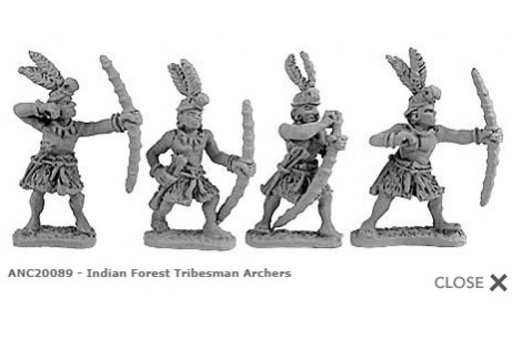 Indian Forest Tribesman Archers