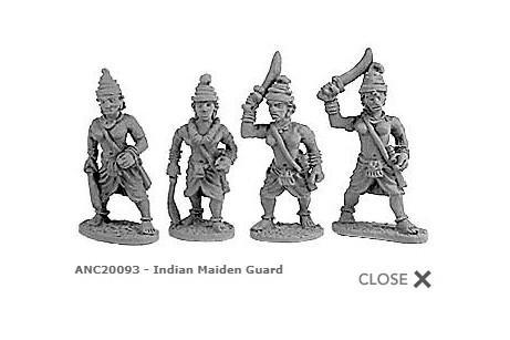 Indian Maiden Guard (Random 8 of 4 designs)
