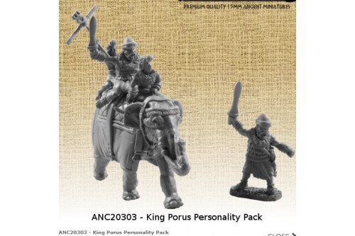 King Porus Personality Pack