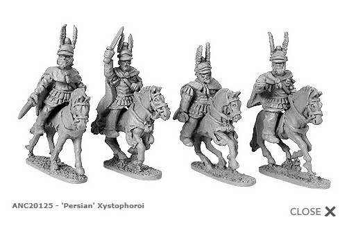 Persian Xystophoroi Successors