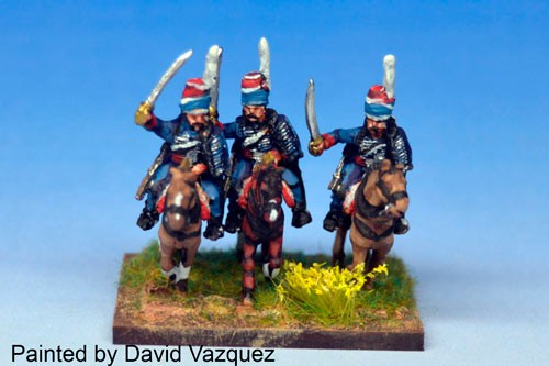 Hussars in Mirliton Charging