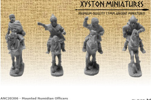 Mounted Numidian Officers