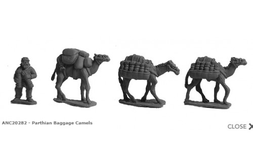 Parthian Baggage Camels