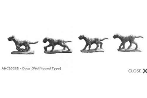 Dogs (Wolfhound Type)