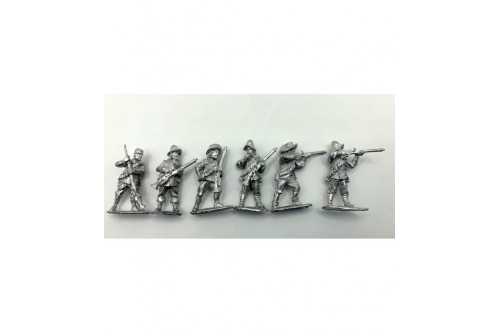 Arquebusiers Firing & loading 1.  (6 different figures)