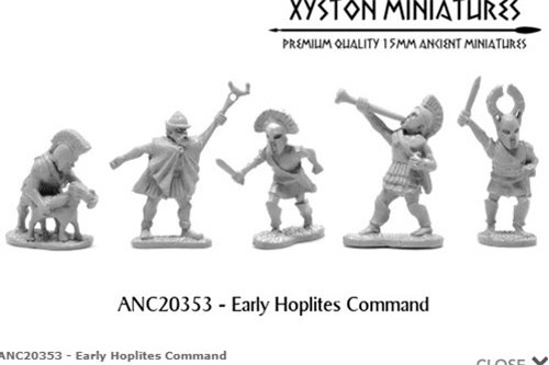 Early Hoplites Command