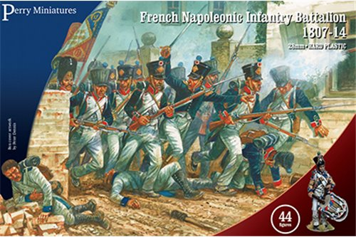 French Napoleonic Infantry Battalion 1807-14