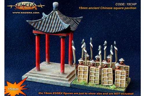 15mm Chinese pavilion