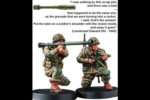 """M9A1 """"Bazooka"""" team (double pack) – US Army 101st Airborne Division"""